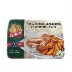 Картофель по-деревенски с цыпленком Ранч, 300гр.