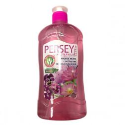 Мыло жидкое с дозатором PERSEY лотос и фиалка, 550мл