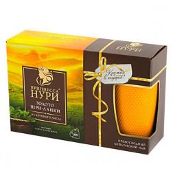 Чай черный Принцесса Нури «Золото Шри-Ланки» 100пак.