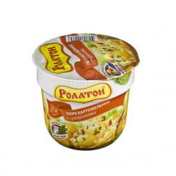 Пюре картофельное Роллтон с сухариками 40гр.