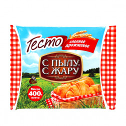 Тесто С пылу С жару дрожжевое 400 гр.