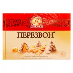 Конфеты «Славянка» Перезвон в вафельной крошке, 220 гр.