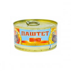 Паштет «Совок» с утиной печенью 130 гр.