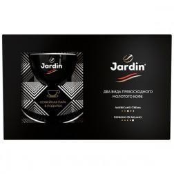 Кофе Jardin подарочный два вида молотого кофе + чайная пара 250г
