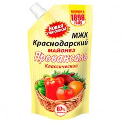 Майонез МЖК, Краснодарский 67%, 800 гр.
