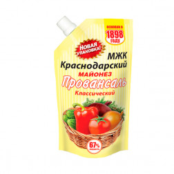 Майонез МЖК, Краснодарский 67%, 380 гр.