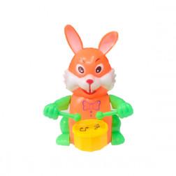 Заводной заяц с барабаном, цвета в асс.